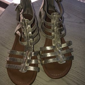 Other - Gold sandals - barely worn !